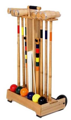 Gamenamics 6-Player Croquet Set