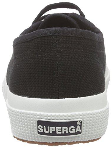 Classic Black Noir Adulte F83 Cotu Superga 2750 Mixte Sneaker Top Low PABAn17