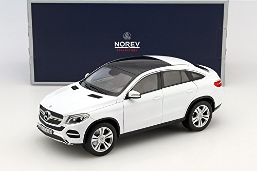 NEW 1:18 W/B NOREV COLLECTION - WHITE 2015 MERCEDES-BENZ GLE COUPE Diecast Model Car By - Gle Model