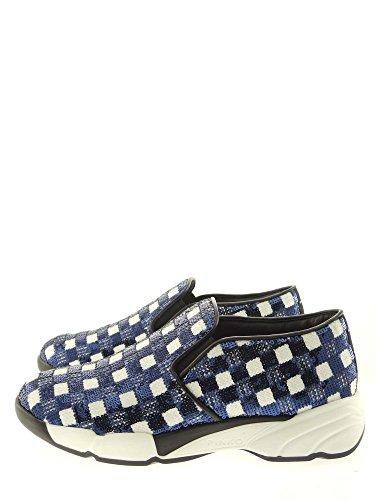 Bas Baskets Femme 1h2050 Ez1 Bianco Pinko blu Flood Y1rj wRETq7