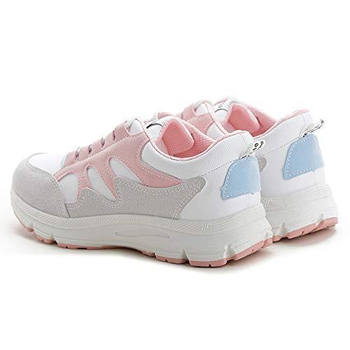 Da Fitness Lefu Sports Ginnastica Sneaker Scarpe Basse Rosa Donna 5R06Rq