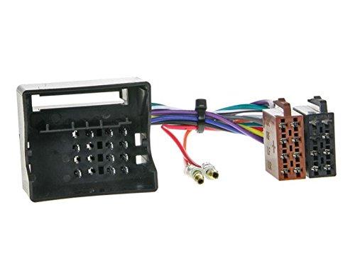 1 Din Radio Einbauset Blende Radioanschlusskabel Antennenadapter f/ür Mercedes C Klasse W203 S203 CL203 Facelift