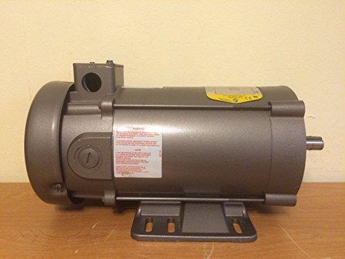 - BALDOR CDP3440 56C Frame TEFC DC Motor, 0.75 hp, 1750 RPM, 3428P, F1, 90V Armature Voltage