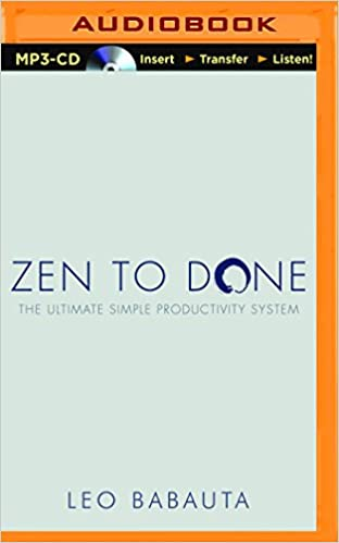 done zen audio book to