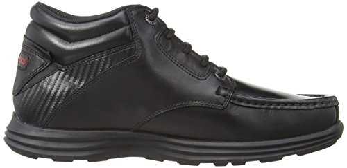 Kickers Reasan Boot Leather Am, Herren Stiefel Schwarz (Black)