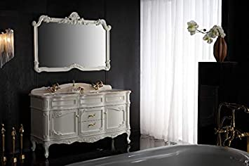Marmor Luxus Designer Badkommode Doppelwaschtisch Bad
