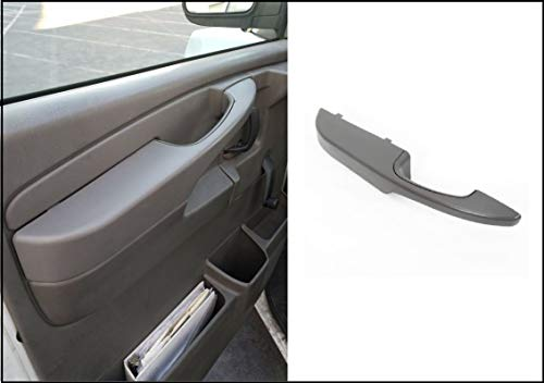 1 PCs of Inside Door Driver Side Front Handle Complete Armrest Fit for Chevy Express GMC Savana 2003-2014 1500 2500 3500 - OE Style + Easy Installation