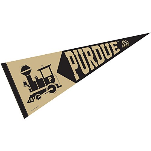 Purdue Boilermakers Retro Vintage and Throwback Pennant
