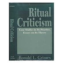Ritual Criticism