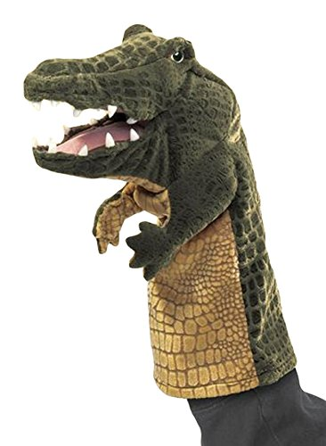 Stage Stage Puppet Puppet (Folkmanis Crocodile Stage Puppet)