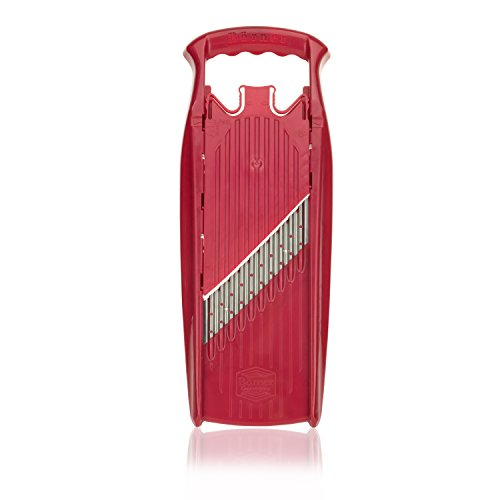 Borner Wave-Waffle Cutter Powerline - straight from the manufacturer (red)