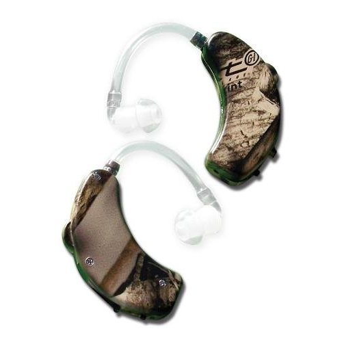 GSM Outdoors GWP-UE1001-NXT2PK Walkers Game Ear Ultra Ear (BTE), Camouflage (Pack of 2) by GSM Outdoors