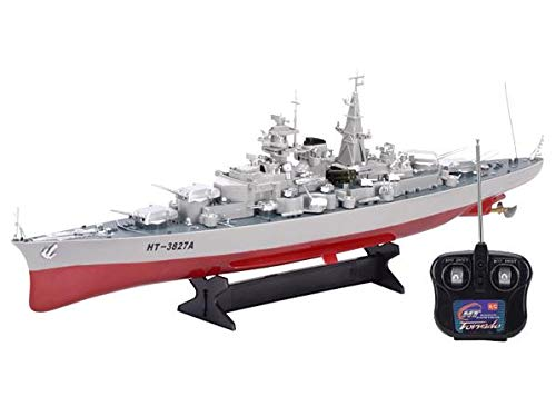 Remote Control Boat rc KMS Bismarck Class Battleship Model Ship Toy Boat