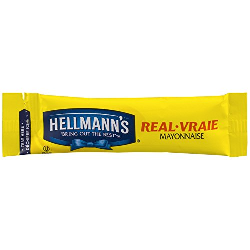 Hellmanns Mayonnaise Stick Packets Real 0.38 oz, 210ct