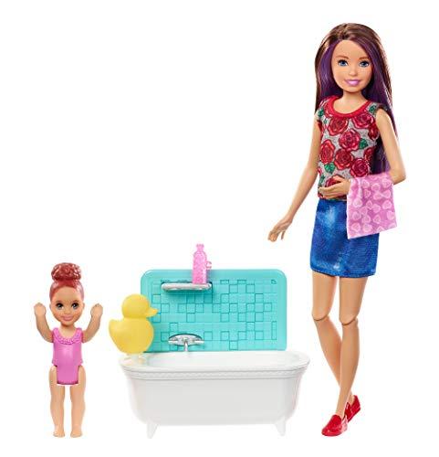 Barbie Babysitter Playset, Brown - Barbie Dolls Kids