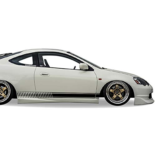 ersal Side Stripes Stickers Decals Graphic Compatible with Honda Integra Type R Acura 2002-2006 ()