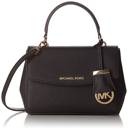 Extra Small Handbag (Michael Kors Women's Ava Extra Small Cross Body, Black, One Size)