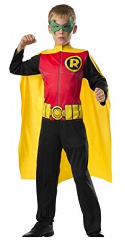 Robin Boys Halloween Costume (M 8-10)