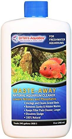 DrTims Aquatics Waste Away Aquarium Freshwater