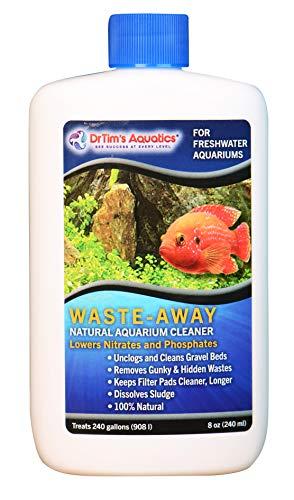DrTim's Aquatics Waste-Away Natural Aquarium Cleaner for Freshwater 8-Ounce