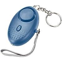 Jiudong Safe Sound Persoonlijk Alarm, 130 DB Draagbare Alarm Sleutelhanger met LED-verlichting voor zelfverdediging…