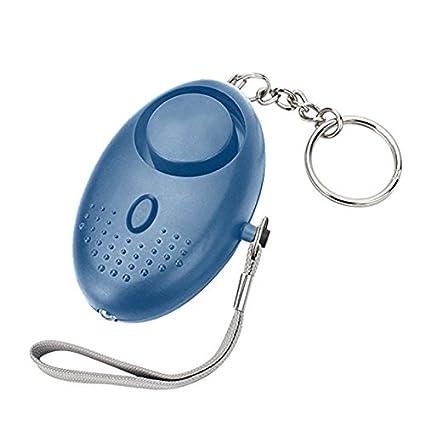 Bearcolo - Alarma personal para mujer, luz LED de alto ...