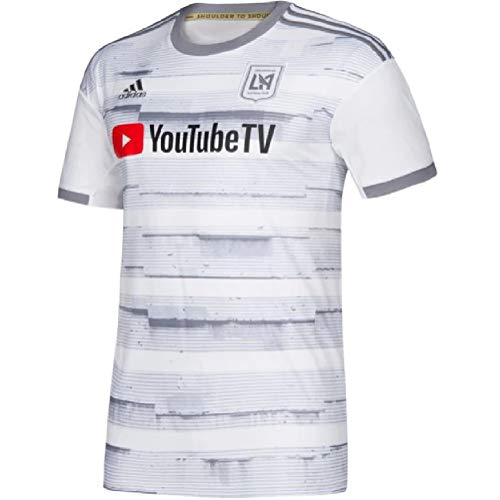 adidas Mens 2019/20 Los Angeles FC LAFC Away Replica Jersey Medium - Jersey Gray Away