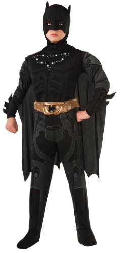 Rubies Costume Co R881292-L Boys Light-Up Batman Costume LARGE (Dark Knight Costume Replica)