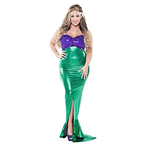 b542519076200 Plus Size Mermaid Costumes (1X