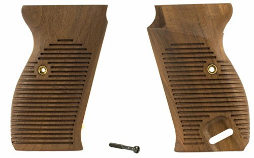 Numrich Gun Parts Walther P38 / P1 Commercial Walnut Grips (Parts Walther Gun)