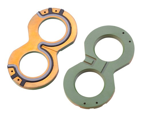 DIDESIN P350 Series Gear Pump Thrust Plate 2 Count 391-2185-057 (YF-350), interchangeable with Parker Commercial (391-2185-957), Muncie, Permco and Metaris gear pumps