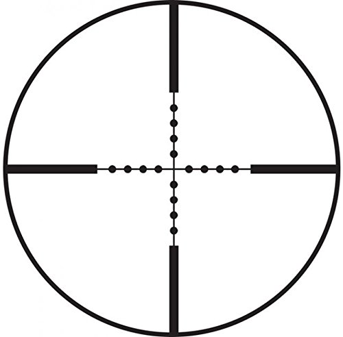 BSA Tactical Mil-Dot Rifle Scope 30mm Tube 6-24x 44mm Side Focus Glass Etched Mil-Dot Reticle Matte by BSA Optics