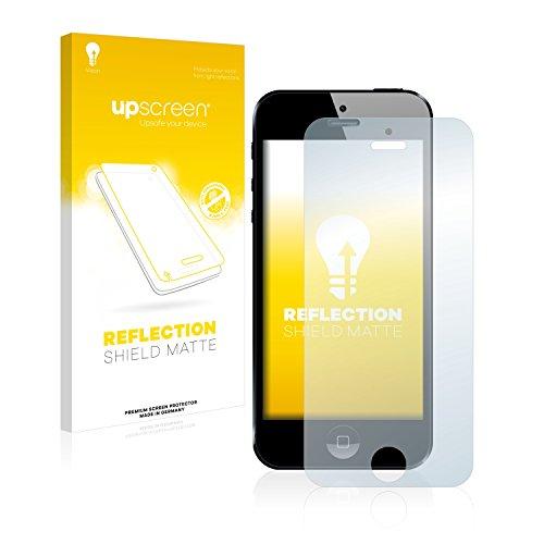 upscreen Scratch Shield Pellicola Protettiva Opaca Apple iPhone 5 Protezione Schermo – Antiriflesso, Anti-Impronte
