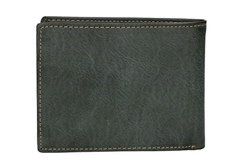 purse with flap BASILE ANTONIO and coin Wallet green lateral man AYZzqIw