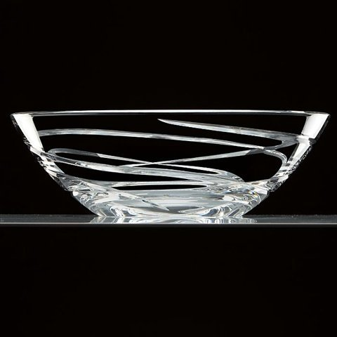 Lenox Adorn Low Bowl, White - Lenox Crystal
