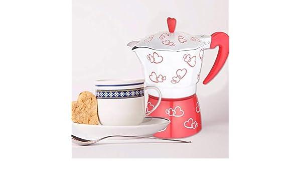 Hedear Cafetera, Cafetera Cafetera Espresso 3 Tazas / 150 ml ...