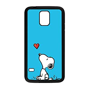 Hope-Store Lovely snoopy Cell Phone Case for Samsung Galaxy S5
