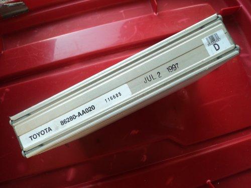 (Toyota Avalon 6 speaker AMP Amplifier 86280-AA020)