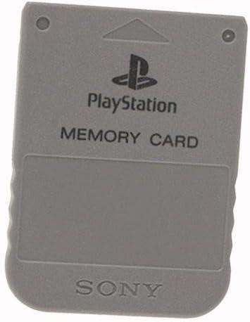 Amazon.com: Memory Card: Gray - PlayStation: Video Games