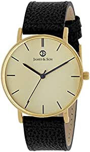 James and Son Casual Watch For Women Analog Leather - JAS10081-102