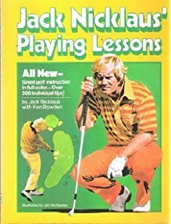 jack nicklaus playing lessons