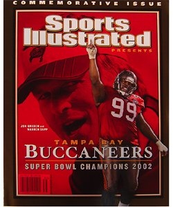 Sports Illustrated Presents: Tampa Bay Buccaneers Super Bowl Champions 2002: Commemorative Issue Magazine (2002 Super Bowl Champions)