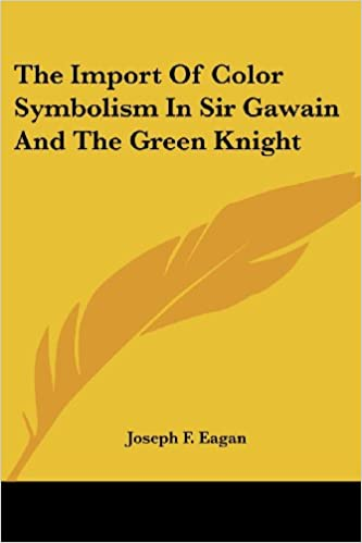Amazon Buy The Import Of Color Symbolism In Sir Gawain And The