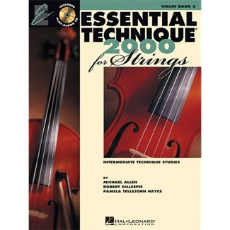 Hal Leonard Essential Technique for Strings - Violin (Book 3 with EEi) ()