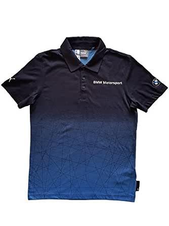 PUMA BMW MSP Gradient Polo Mens BMW Team Blue - Small: Amazon.es ...