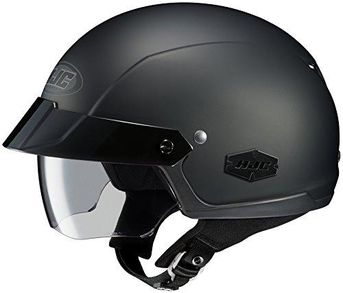 Hjc Is-cruiser Matte Black SIZE:XLG Open Face Motorcycle Helmet