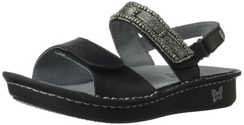 Alegria Women's Verona Wedge Sandal,Antique Pewter,36 BR/...