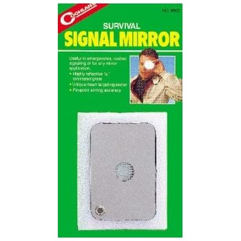 "Coghlan's Survival Signal Mirror, Size: 2"" x 3"""