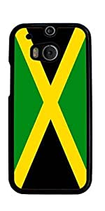 The national flag of Jamaica Hard Case for HTC ONE M8 ( Sugar Skull )