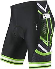 Baleaf Men's Cycling Shorts 4D Padded Bicycle Riding Bike Pants Pockets UPF50+ Road Bike Cycle Sh